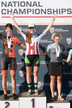 Carolyn Defoore - US National Master Road Race Champion